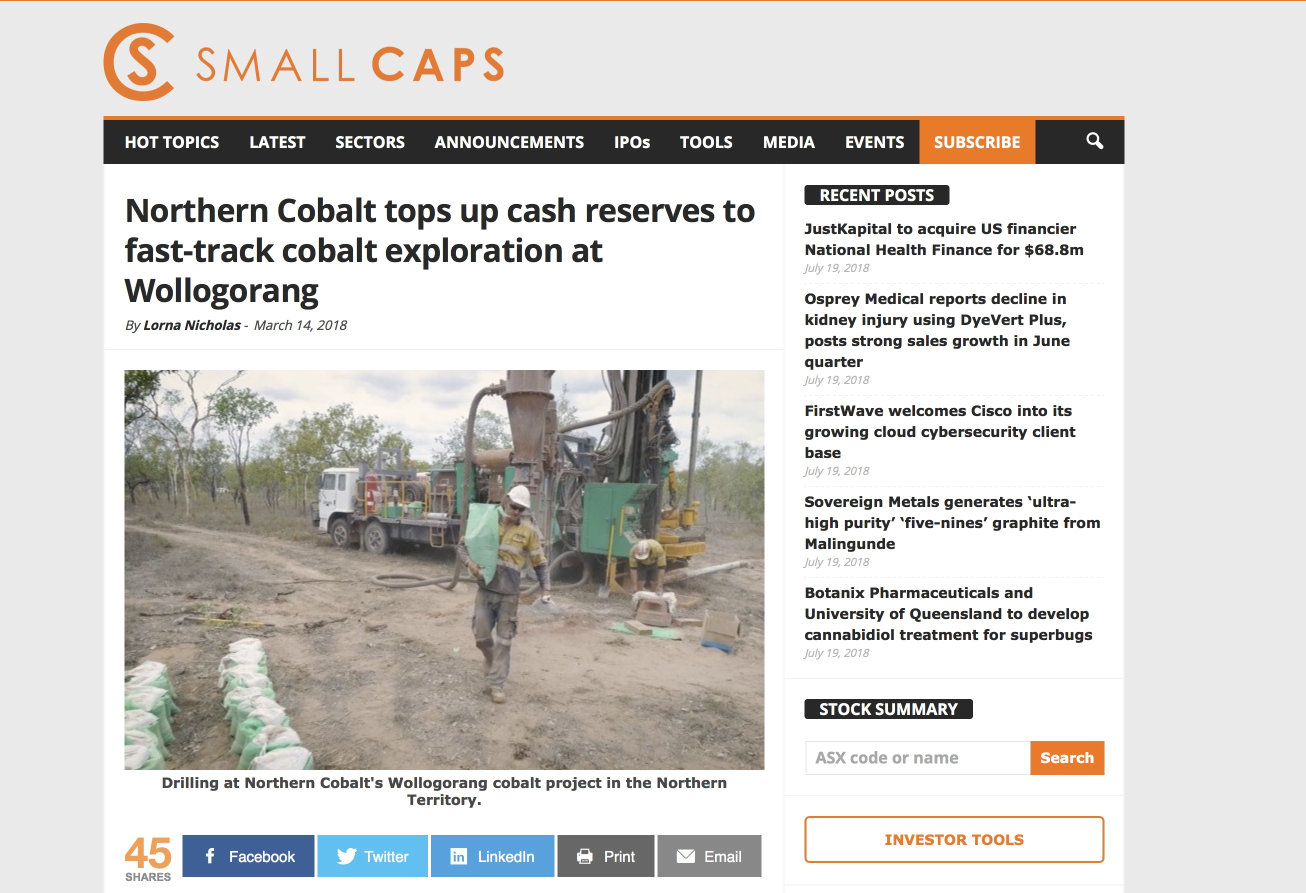 N27 IC SmallCaps Article TopUpCashReserve