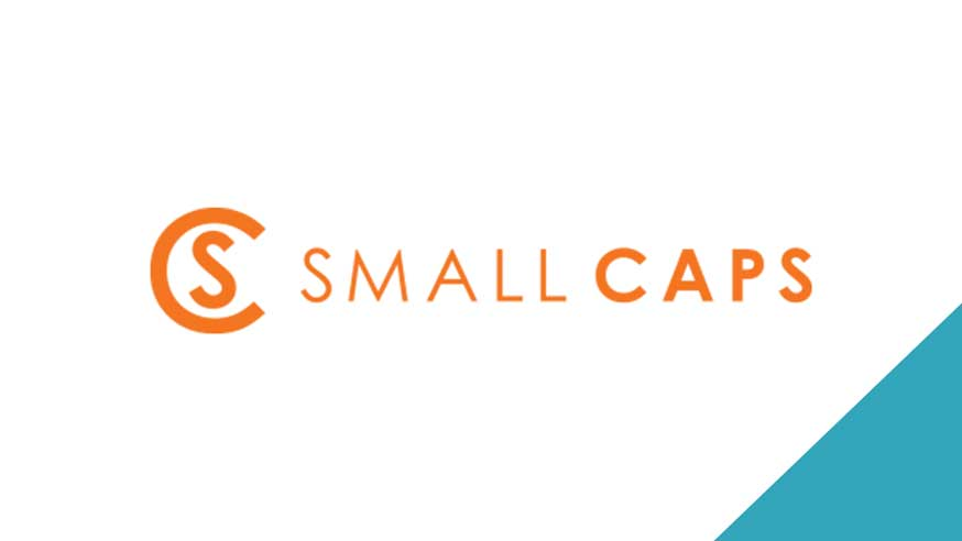 BLOG Small Caps Logo