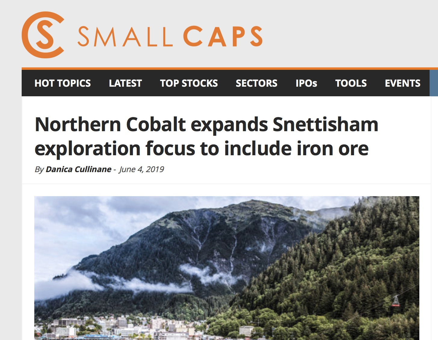 SMALLCAPS Iron article